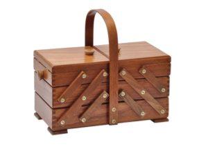 Photo de la boite à couture Aumuller korbwaren
