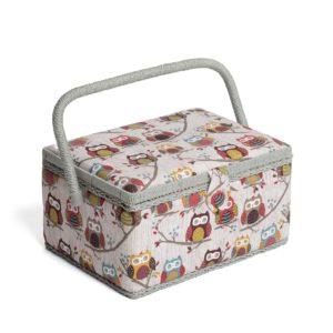 Photo de la boite à couture Hobby Gift Hiboux